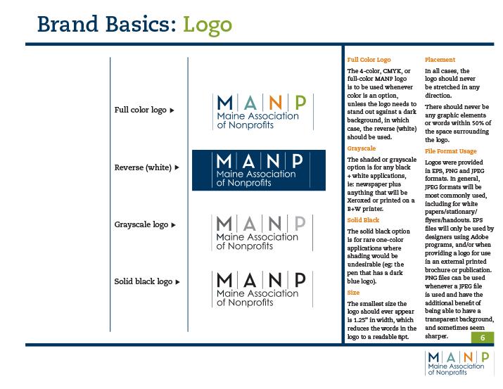 MANP Logo Usage