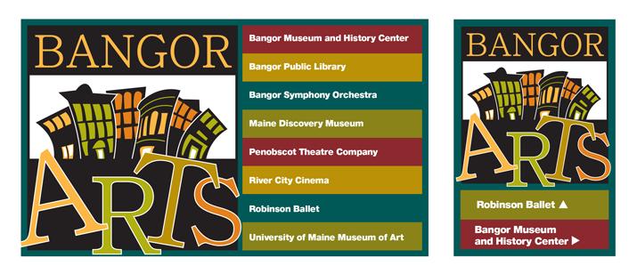 Bangor Arts Signage