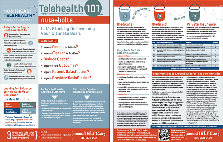 Telehealth 101 Fact Sheet