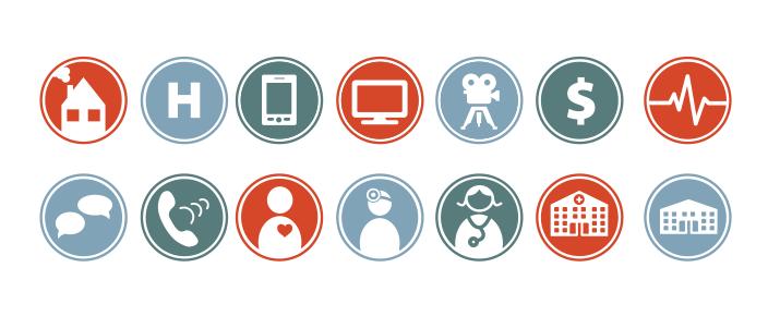 NETRC Brand Icons
